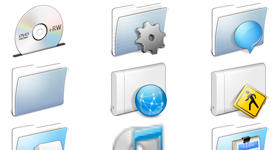 AquaBlend Icons