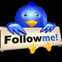 Follow, Me, Twitter Icon