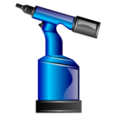 Pneumatic, Riveting, Tool Icon