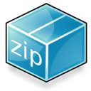 Application, Zip Icon