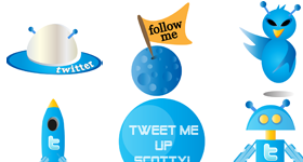 Tweet Scotty Icons