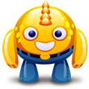 Monster, Yellow Icon