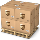 Boxes, Shipping, Ups Icon