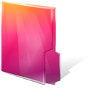 Aurora, Close, Folders, Texto Icon