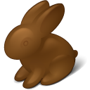 Chokolate, Easter, Rabbit Icon