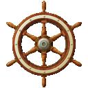 Ship, Wheel Icon