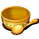 Bowl, Eat, Food, Spoon Icon