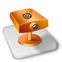 Color, Ms, Powerpoint, Projector Icon