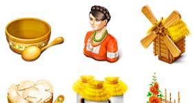 Ukranian Motifs Icons