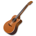Guitar, Wood Icon