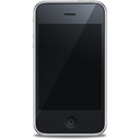 Apple, Black, Front, Iphone Icon