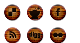 Wood Grain Icons