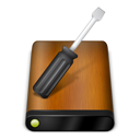 Drive, Tools, Wood Icon