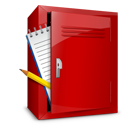 Locker, Notebook Icon