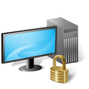 Locked, Vista, Workstation Icon