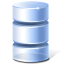 Database, Inactive Icon