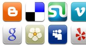 Aquaticus Social Icons