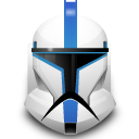 Clone, Helmet, Star, Wars Icon