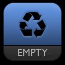 e, Trash Icon