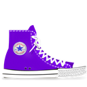 Converse, Light, Lila Icon