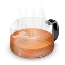 Glass, Teapot Icon