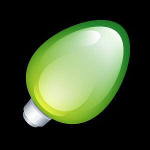Christmas, Green, Light Icon