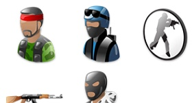 Counter Strike Icons