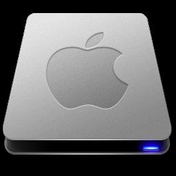 Apple, Drives, Icon, Remake, Slick Icon