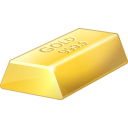 Bullion, Gold Icon