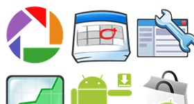 Simply Google Icons