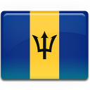 Barbados, Flag Icon