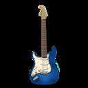 Blue, Guitar, Stratocaster Icon