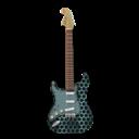 Guitar, Metallicholes, Stratocaster Icon