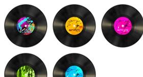 Auto Rate Vinyl Icons