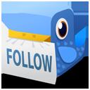 Bird, Follow Icon