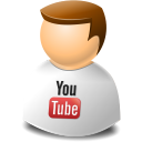 Icontexto, User, Web, Youtube Icon
