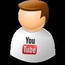 Icontexto, User, Web, Youtube Icon