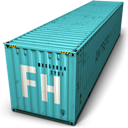 Container, Freehand Icon