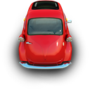 Car, Little, Red Icon