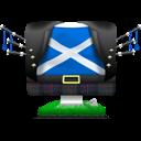 Big, Flag, Iscot Icon