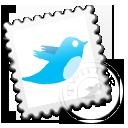 Grey, Twitter Icon