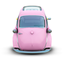 Car, Pink Icon