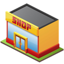 Retail, Shop Icon