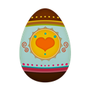 Easter, Egg Icon
