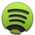 Green, Spotify Icon
