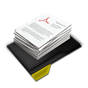 Documents, My, Pile, Yellow Icon