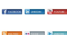 Social Bars Icons