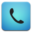 Blue, Phone Icon