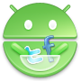 Android, Market, Round Icon