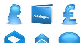 Bleu Icons